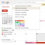 Importar Calendário do Google 3