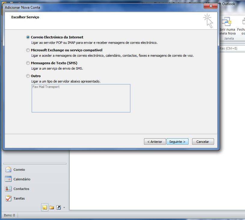Outlook 2010 - Email Profissional Portugalmail 4