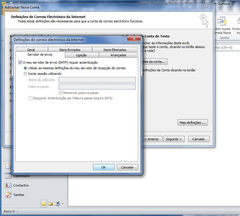 Outlook 2010 - Email Profissional Portugalmail 6
