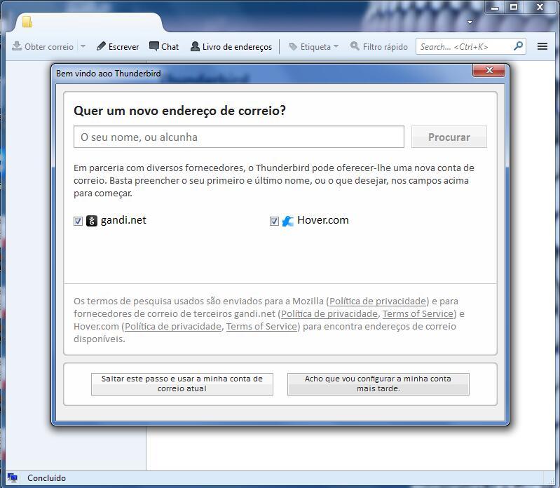 Thunderbird - Email Profissional 2